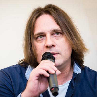Karel Balčirák - glavni urednik metal magazina Spark
