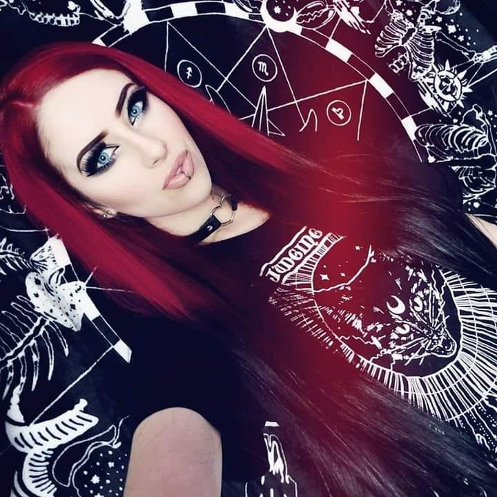 Oronis Whore (Šárka Plisková) - Miss Metalshop 2017